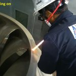 HVOF coating on Turbine Runner