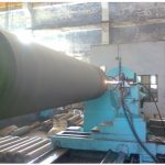 HVOF coating of Paper mill Calender roll
