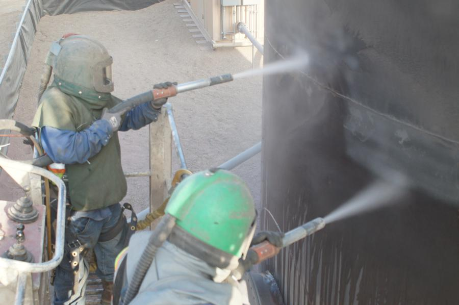 Blasting And Painting Abrasive Blasting Airless Spray