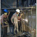 HVOF spray coating of Boiler Tube