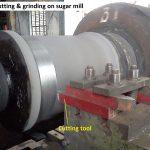 Insitu coating on sugar mill roll
