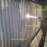 Thermal Spray Coating on boiler tubes